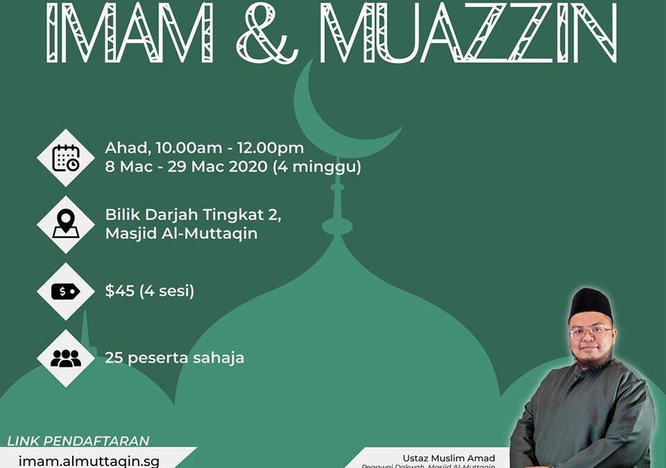 Kursus Imam & Muazzin